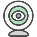 camera, device, record icon