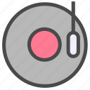 jukebox, music, song icon