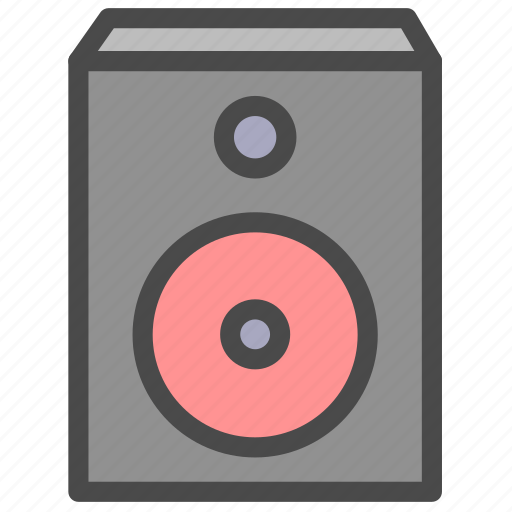 music, song, sound, speaker icon