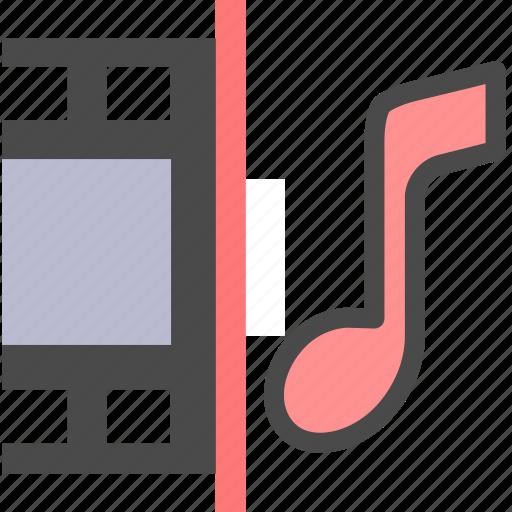 audio, film, video icon