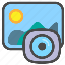 camera, landscape, photography, picture icon