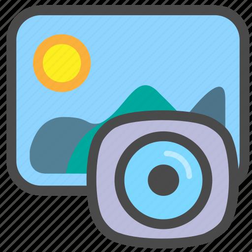camera, landscape, photography, picture icon
