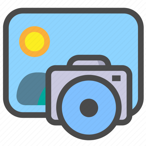 gallery, photography, picture icon
