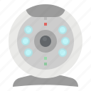chat, video, videocall, videocam, webcam icon