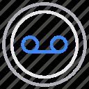 infinity, loop, media, multimedia, player