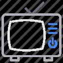 antenna, entertainment, movie, screen, tv icon