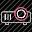 cinema, device, gadget, presentation, projector icon