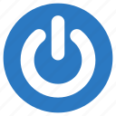 logout, off, power, shutdown, sign icon