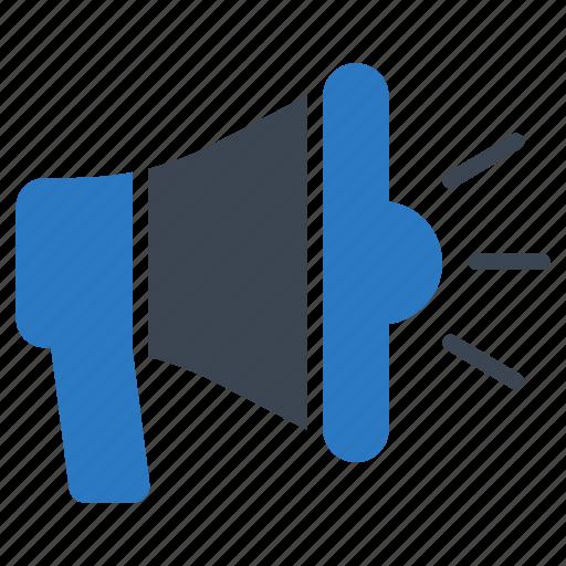 Audio, megaphone, sound, speaker, volume icon - Download on Iconfinder