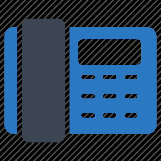 communication, dialpad, landline, receiver, telephone icon