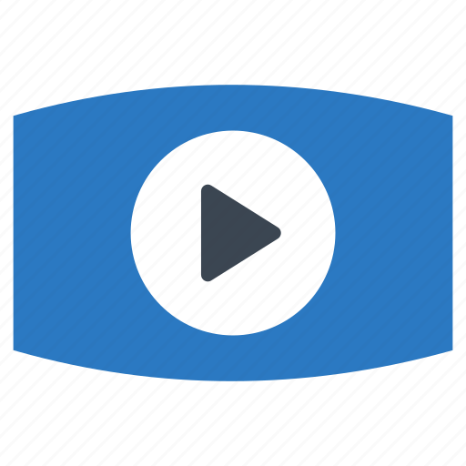 media, movie, music, play, video icon