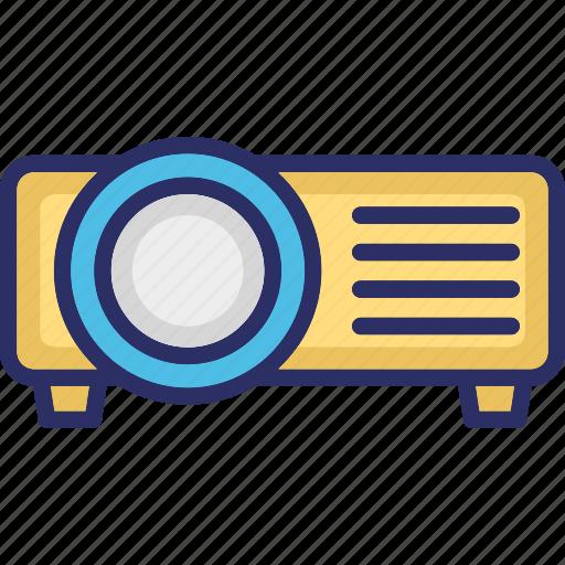 electronics, movie projector, multimedia, projector, video projector icon
