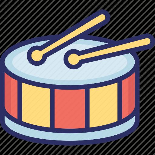 drum, drumbeat, entertainment, music instrument, percussion icon