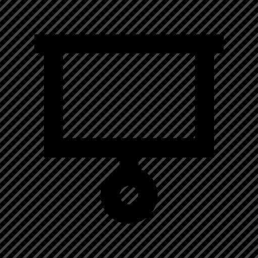 blackboard, design board, easel, easel board, flipchart icon
