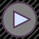 media, multimedia, play, start, streaming