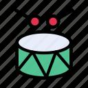 drum, instrument, multimedia, music, sticks