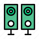 audio, multimedia, sound, speaker, woofer
