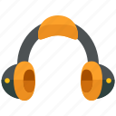 headphone, headset, multimedia icon