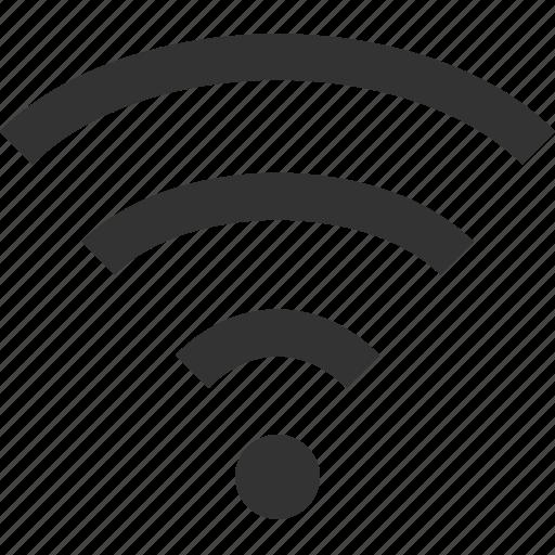 Internet, signal, wifi, wifi signal, wireless icon - Download on Iconfinder