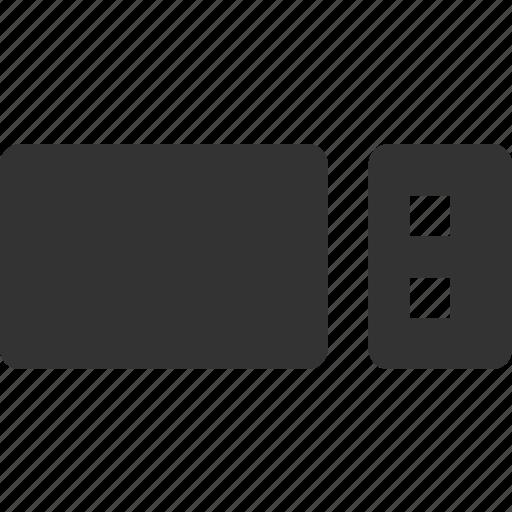 flash memory, memory stick, portable data, usb drive, usb stick icon