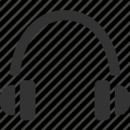 audio, ear phones, headphones, headset, music icon