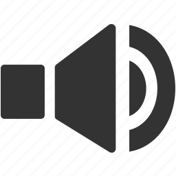 sound, speaker, tone, volume, volume on icon