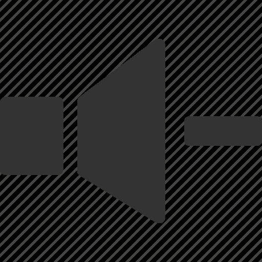 decrease volume, quiet, sound down, volume, volume down icon