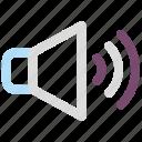 full volume, level, speaker, volume icon icon