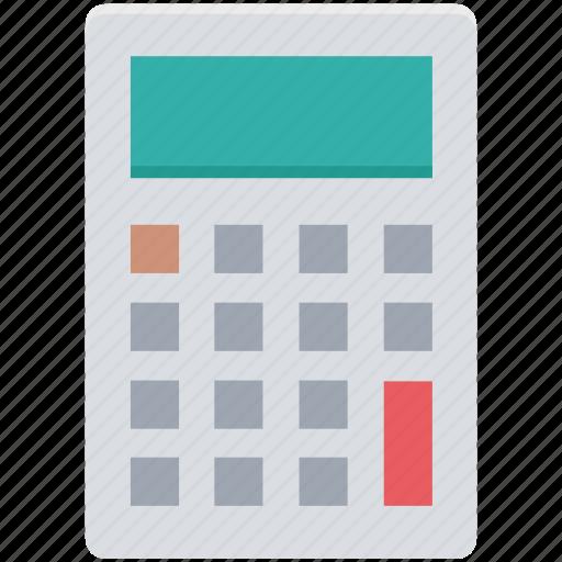 accounting, calculating device, calculator, digital calculator, mathematics icon