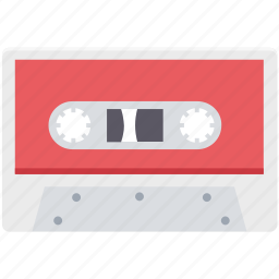 audio tape, cassette, cassette tape, multimedia, musicassette, tape icon