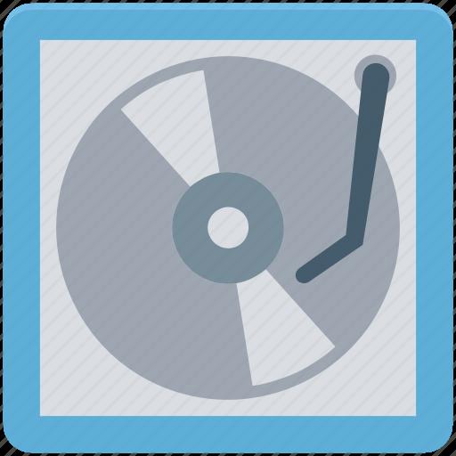 electronics, lp, music, record player, turntable, vinyl lp, vinyl player icon