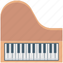 grand piano, instruments, multimedia, piano, piano keyboard, pianoforte icon