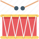 drum, drumbeat, entertainment, music instrument, percussion icon