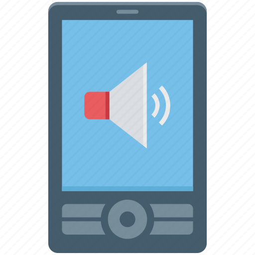 mobile phone, mobile sound, mobile speaker, mobile volume, smartphone, speaker icon