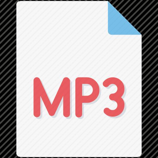 audio file, media, mp3, mp3 file, multimedia, music file, songs collection icon