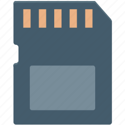 data storage, memory card, microchip, microsd, sd memory icon