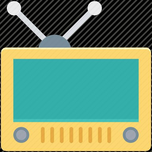 audio device, entertainment, multimedia, radio, recorder, tape, wireless transmission icon