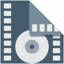 bobbin reel, camera reel, film stip, multimedia, reel, tape reel icon