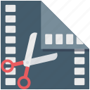 edit, media, multimedia, video editor icon