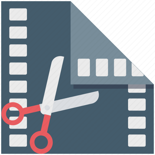 edit, media, multimedia, video editor icon