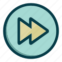 arrow, arrows, forward, navigation icon