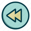 arrow, arrows, back, left, navigation icon