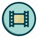 cinema, film, movie, tape, video icon