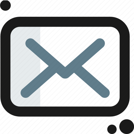 envelope, inbox, mail, message, multimedia, text icon