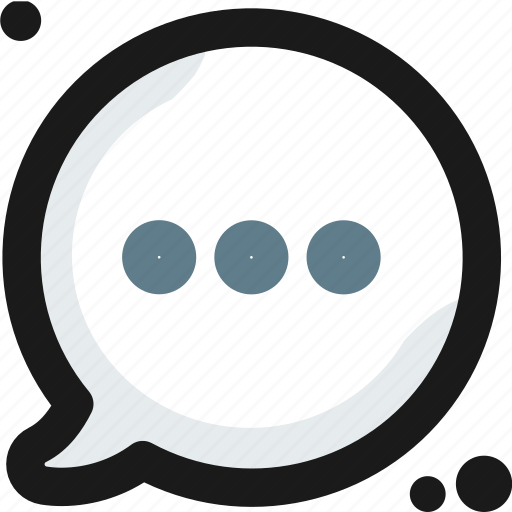 bubble, chat, conversation, message, multimedia, talk, writing icon