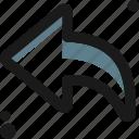 arrow, arrows, direction, left, move, multimedia, navigation icon