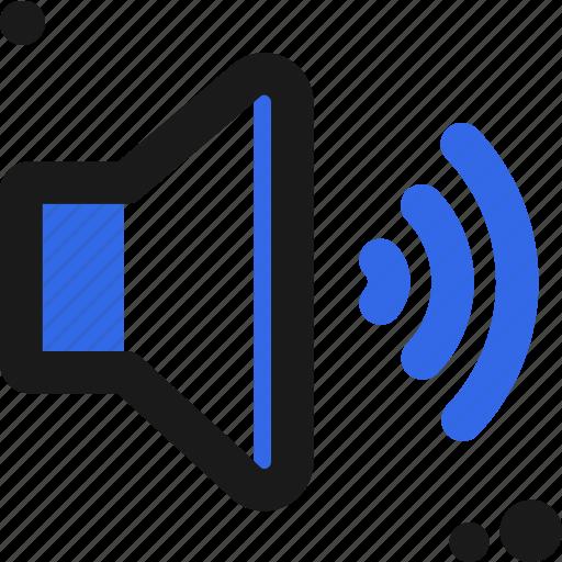 audio, configure, controller, high, settings, setup, volume icon