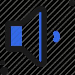 audio, configure, controller, low, settings, setup, volume icon