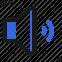 audio, configure, controller, medium, settings, setup, volume icon