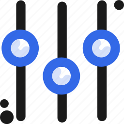 configuration, controller, equalize, setup icon